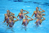Synchronized Swimming - Teams Technical Routine