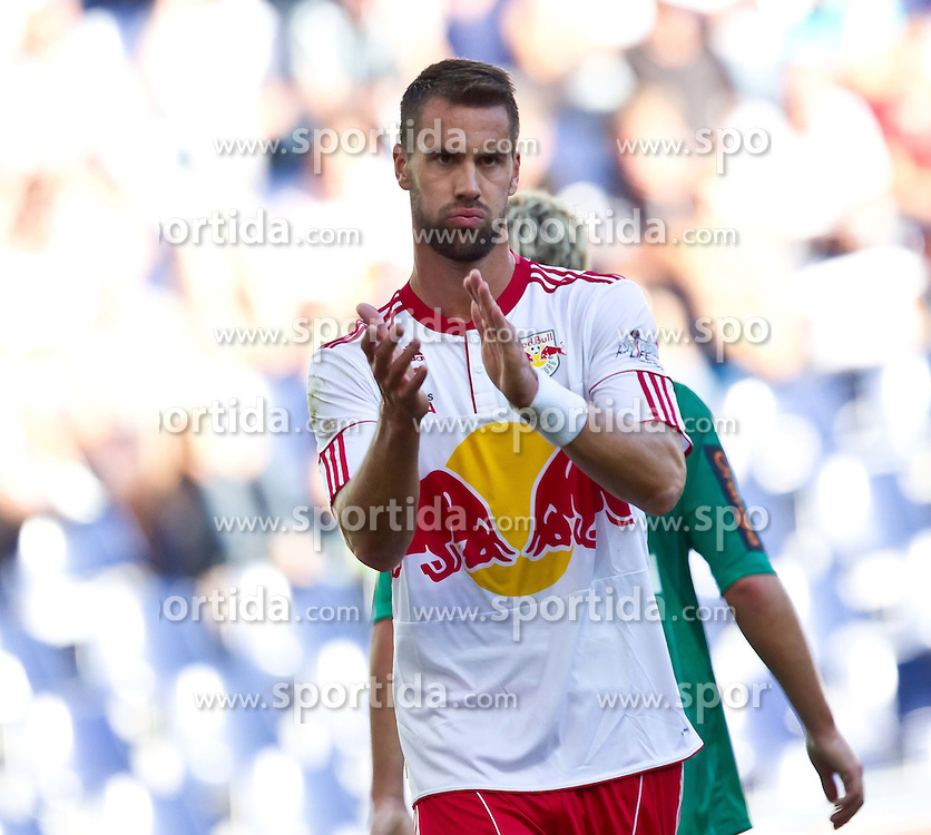 28.08.2011, Red Bull Arena, Salzburg, AUT, 1. FBL, RED BULL SALZBURG vs RAPID WIEN, im Bild Stefan Maierhofer (Red Bull Salzburg, #9) // during the Austrian Bundesliga Match, RED BULL SALZBURG against RAPID VIENNA, Red Bull Arena, Salzburg, 2011-08-28, EXPA Pictures © 2011, PhotoCredit: EXPA/ J. Feichter