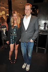 TOM & SARA PARKER-BOWLES at a party to celebrate the new Stephen Webster store on Mount Street, London W1 followed by a dinner at Maddox, Mill Street, London on 24th June 2009.