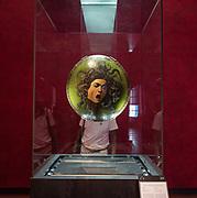 FLORENCE: La Medusa by Caravaggio at Galleria degli Uffizi
