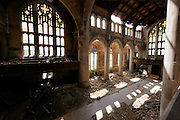 Abandoned church in Gary Indiana. Jeffrey Phelps photo.