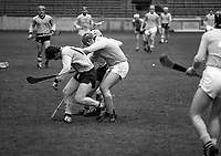 Dublin V Antrim in the Junior Hurling Championship in Croke Park, 01/03/1987 (Part of the Independent Newspapers Ireland/NLI Collection).