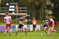 Nick Haining of Bristol United in action against Gloucester United - Mandatory by-line: Paul Knight/JMP - 18/11/2017 - RUGBY - Clifton RFC - Bristol, England - Bristol United v Gloucester United - Aviva A League