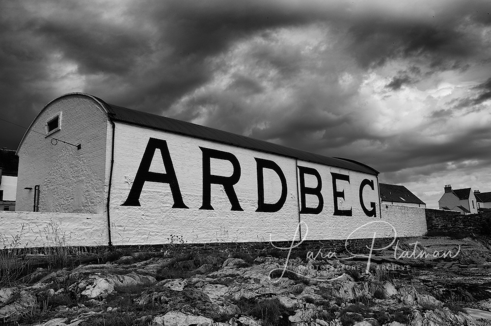 Ardbeg Sprit of Land, the distilleries of Scotland, (new book to come out soon)