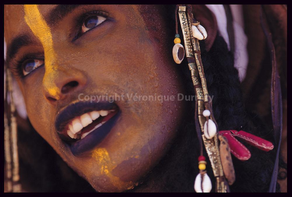 Peul Bororo lors de la fete du Geerewol au Niger