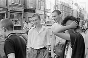 Mark, Gavin, Kelly and Neville, London. 1980