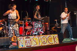 Hamstock! Saturday at the Outer Space. Hip Hop Artist Luminous.