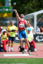 ANDRYUSHCHENKO Vladimir, RUS, Shot Put, F12, 2013 IPC Athletics World Championships, Lyon, France