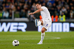 Phil Jagielka of England in action - Photo mandatory by-line: Rogan Thomson/JMP - 07966 386802 - 31/03/2015 - SPORT - FOOTBALL - Turin, Italy - Juventus Stadium - Italy v England - FIFA International Friendly Match.