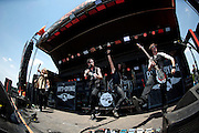 Art of Dying performing at Carolina Rebellion at Metrolina Expo in Charlotte, NC on May 7, 2011 with special guest Adam Gontier of Three Days Grace