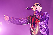 """Ludacris perfroms at Rowan University as part of the colleges annual """"Profstock""""  concert."""