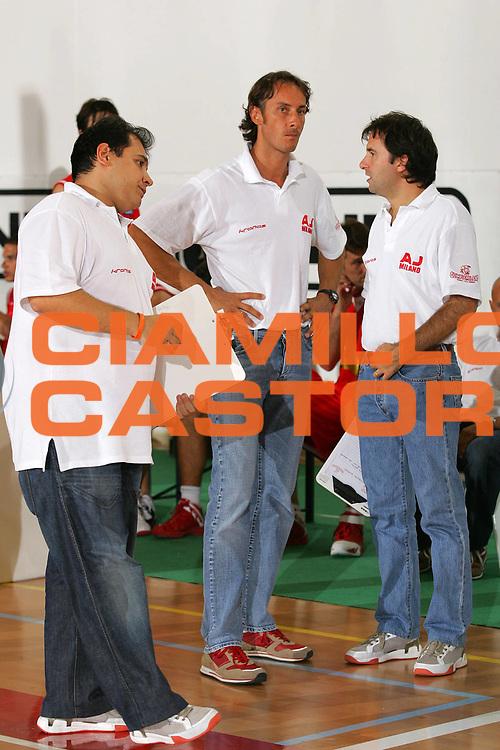 DESCRIZIONE : San Vito al Tagliamento Precampionato Lega A1 2006-07 Nuova Sebastiani Rieti Armani Jeans Milano <br /> GIOCATORE : Coldebella <br /> SQUADRA : Armani Jeans Milano <br /> EVENTO : Precampionato Lega A1 2006-2007 Memorial Boz <br /> GARA : Nuova Sebastiani Rieti Armani Jeans Milano <br /> DATA : 09/09/2006 <br /> CATEGORIA : Delusione <br /> SPORT : Pallacanestro <br /> AUTORE : Agenzia Ciamillo-Castoria/S.Silvestri