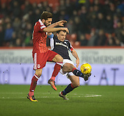 \Pm\ and Aberdeen&rsquo;s Graeme&nbsp;Shinnie - Aberdeen v Dundee in the Ladbrokes Scottish Premiership at Pittodrie, Aberdeen - Photo: David Young, <br /> <br />  - &copy; David Young - www.davidyoungphoto.co.uk - email: davidyoungphoto@gmail.com