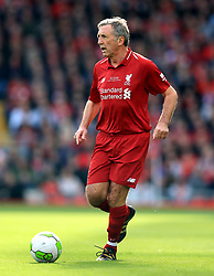 Liverpool's Alan Kennedy during the Legends match at Anfield Stadium, Liverpool.