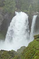 Sahalie Falls of the McKenzie River, Cascade Range Oregon