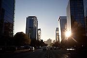 Distrito comercial de Santiago, Chile.    Mayo de 2012. Patricio Valenzuela Hohmann