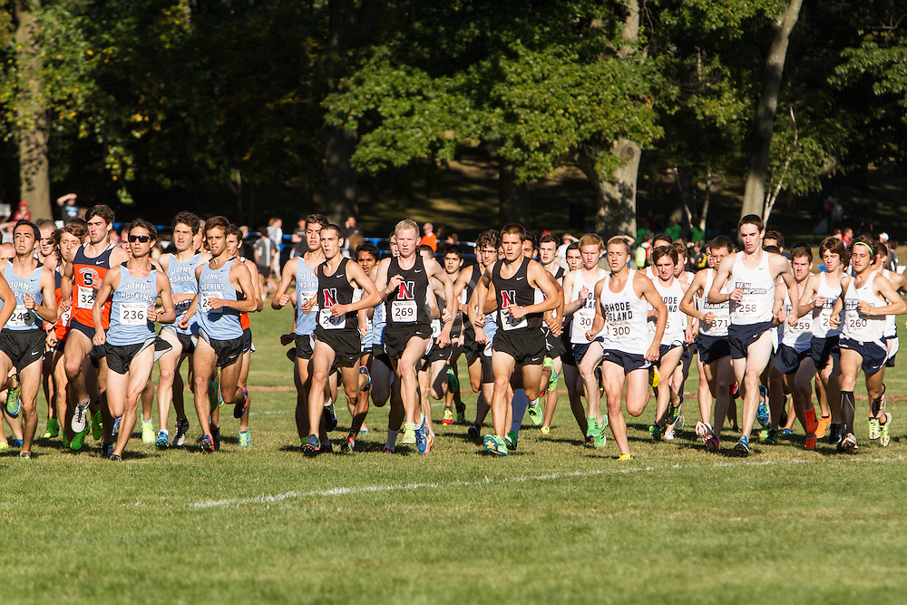 Boston College Invitational Cross Country race at Franklin Park