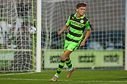 Forest Green Rovers Olly Mehew scores Forest Green's third goal during the Pre-Season Friendly match between Forest Green Rovers and Cardiff City at the New Lawn, Forest Green, United Kingdom on 13 July 2016. Photo by Shane Healey.