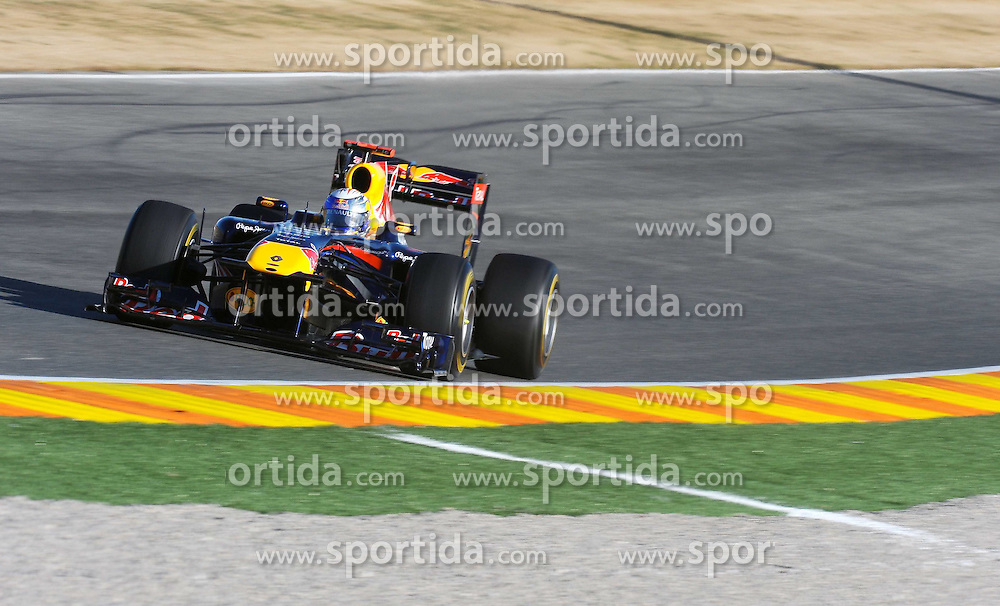 02.02.2011, Street Circuit, Jerez, ESP, Formel 1 Test 1 Valencia 2011,  im Bild Sebastian Vettel (GER), Red Bull Racing EXPA Pictures © 2011, PhotoCredit: EXPA/ nph/  Dieter Mathis       ****** out of GER / SWE / CRO  / BEL ******