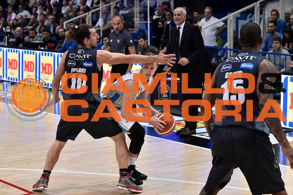 Amato Andrea<br /> Dolomiti Energia Trento - Vanoli Cremona<br /> Lega Basket Serie A 2016/2017<br /> Trento 09/10/2016<br /> Foto Ciamillo-Castoria