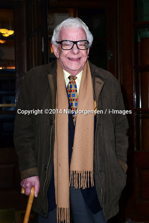 Barry Cryer attends at the Oldie of the Year Awards in London, Tuesday, 4th February 2014. Picture by Nils Jorgensen / i-Images