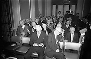 15/11/1966<br /> 11/15/1966<br /> 15 November 1966<br /> Unveiling of Commemorative Plaque for 53 anniversary of the decision to form the Irish Volunteers at Wynn's Hotel, Dublin. Picture shows some of the attendees during the unveiling ceremony.