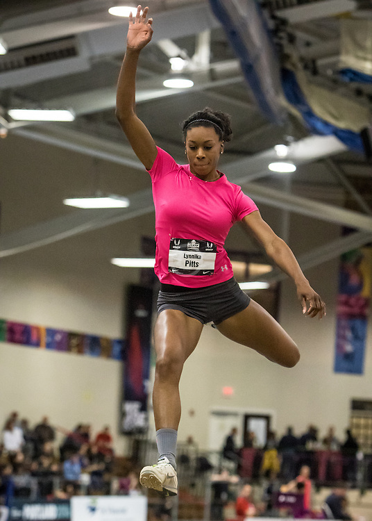 USATF Indoor Track & Field Championships: womens triple jump, Lynnika Pitts