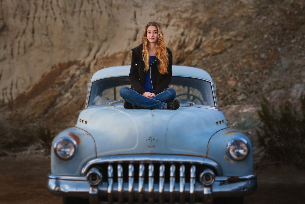 Santa Barbara senior portrait photography by Michelle Turner.