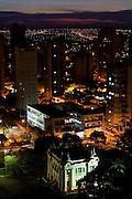 Uberlandia_MG, Brasil...Vista panoramica de Uberlandia, com destaque para o Palacio dos Leos, antiga Camara dos Vereadores, Minas Gerais...The panoramic view of Uberlandia, specially the Leoes Palace, Minas Gerais. ..Foto: LEO DRUMOND / NITRO
