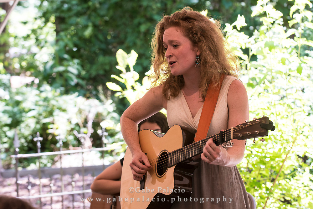 NERFA presents Young Folk featuring Brian Duane, Alice Howe, Ursula Hansberry, in the Founders Tent at the American Roots Music Festival at Caramoor in Katonah New York on June 24, 2017. <br /> (photo by Gabe Palacio)
