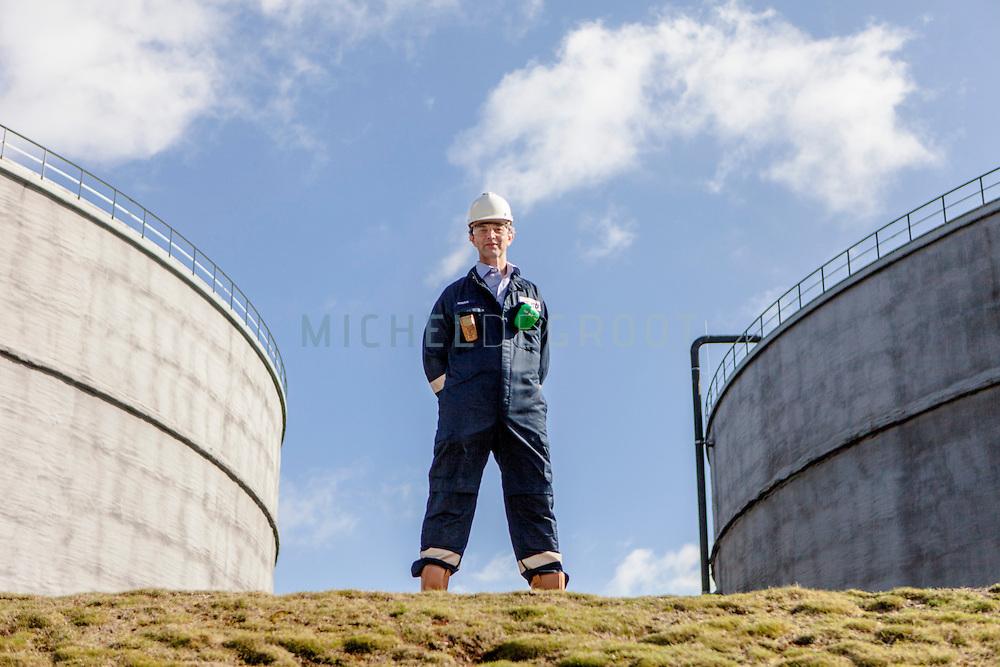 Aernout Boot, directeur van VTTI in Rotterdam