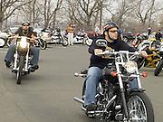 Motorcycle gathering on Sundays on top of Bear Mountain NY