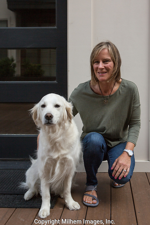 Zoi and Anne, Therapy Dogs, Ann Arbor Dog Project