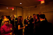 Supporters of Freshman Congressman Adam Kinzinger, 32, (Republican, Illinois) gather at The Capital Hill club after he is sworn in to office at the United States Capital in Washington, DC on Wednesday, January 5, 2011. Kinzinger will be a member of the 112th Congress, and represents the 11th Congressional District.