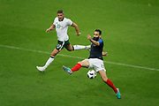 Adil RAMI (FRA), J. WALTERS (IRL) during the FIFA Friendly Game football match between France and Republic of Ireland on May 28, 2018 at Stade de France in Saint-Denis near Paris, France - Photo Stephane Allaman / ProSportsImages / DPPI