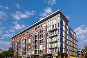Architectural image of District Apartments in Washington DC by Jeffrey Sauers of Commerial Photographics