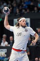Mikkel Hansen - 26.04.2015 - Handball - Nantes / Paris Saint Germain - Finale Coupe de France-  <br /> Photo : Andre Ferreira / Icon Sport