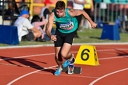 Paul Keogan, IRE competing in the T37, 400m at the Berlin 2018 World Para Athletics European Championships