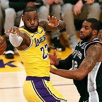 10-22 SAN ANTONIO SPURS AT LA LAKERS