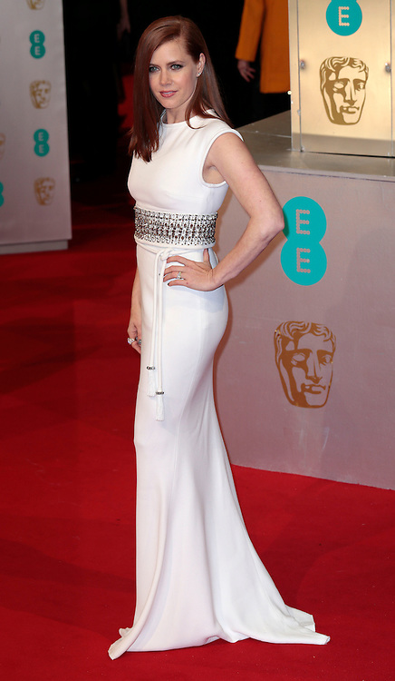 Feb 8, 2015 - EE British Academy Film Awards 2015 - Red Carpet Arrivals at Royal Opera House<br /> <br /> Pictured: Amy Adams<br /> ©Exclusivepix Media