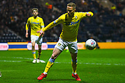 Adam Forshaw of Leeds United (4) in action during the EFL Sky Bet Championship match between Preston North End and Leeds United at Deepdale, Preston, England on 9 April 2019.