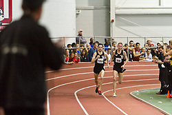Boston University Terrier Invitational Indoor Track Meet: Galen Rupp, Oregon Project, wins Elite Mile 3:50.92 as Dorian Ulrey paces