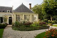 Parktuin van 18e eeuwse buitenplaats in Loenersloot