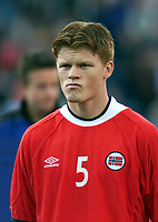 Fotball: Norway's and Liverpool's John Arne Riise.