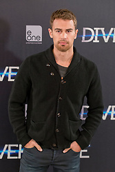 English actor Theo James during photocall of 'Divergent' in Madrid, Spain, Thursday, 3rd April 2014. Picture by Oscar Gonzalez / i-Images.<br /> <br /> SPAIN OUT