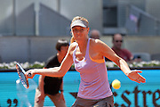 May 6, 2014 - Madrid, Spain - <br /> <br /> Mutua Madrid Open: Maria Sharapova<br /> <br /> Maria Sharapova of Russia against Christina Mchale of the United States in their second round match during day four of the Mutua Madrid Open tennis tournament at the Caja Magica on May 6, 2014 in Madrid, Spain. <br /> ©Exclusivepix
