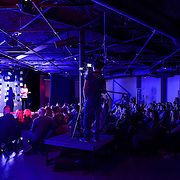 Reagan Ruedig speaks at TEDx Piscataqua, May 6, 2015 at 3S Artspace in Portsmouth NH