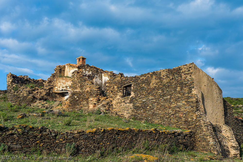 "A selection of photographs of ""masies"" (the classic longstanding Catalan Farmstead or Manor) from the Cap de Creus area, the mountanious eastern most portion of the Pyrenees which dies into the Mediterranean."