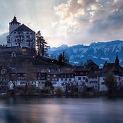Walensee in Switzerland