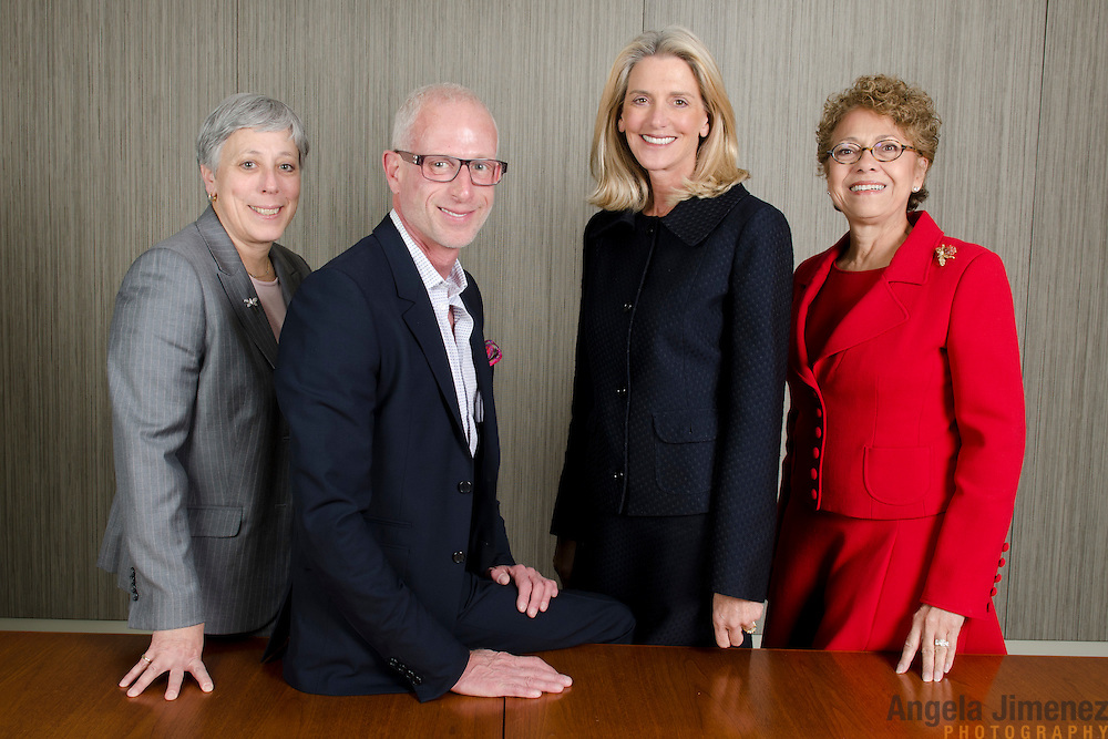 The board of The New York Community Trust is photographed at their offices on April 5, 2012. ...Photograph by Angela Jimenez for The New York Community Trust. ...http://www.angelajimenezphotography.com. ...